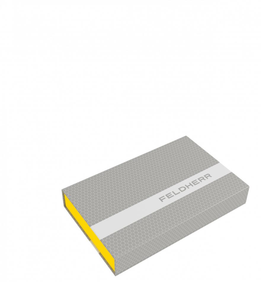 Feldherr Magnetic Box yellow for Gloomhaven board game miniatures