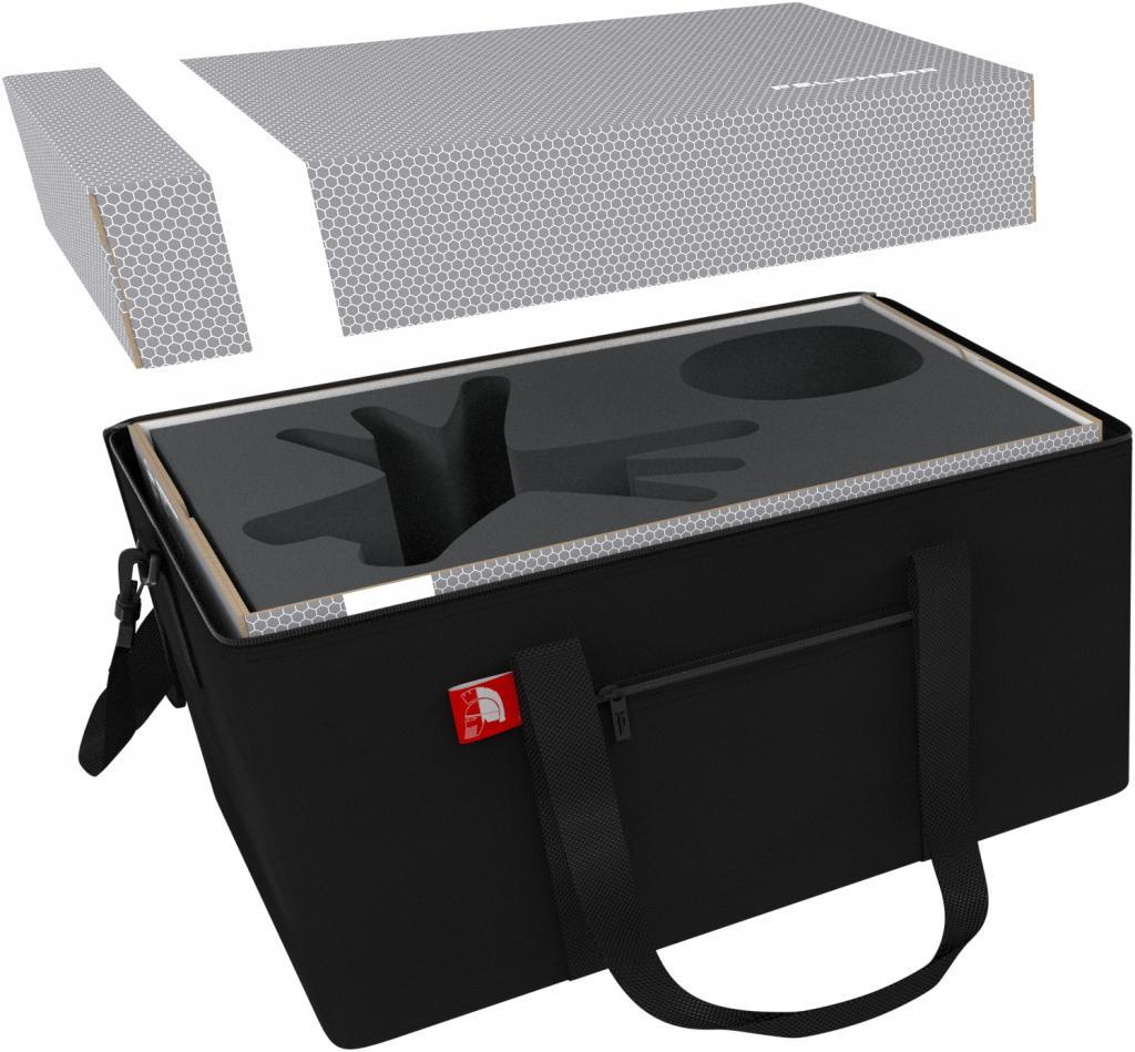 Feldherr foam tray set for KDM 1.5 Wave 1 + 2: Spidicules, Sunstalker and small monsters W/ STORAGE BOX & TRANSPORTER