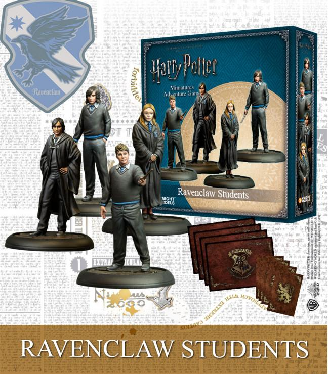 RAVENCLAW STUDENTS (pack of 4)