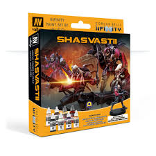Model Color - Infinity Shasvastii Paint Set w/ Exclusive Miniature