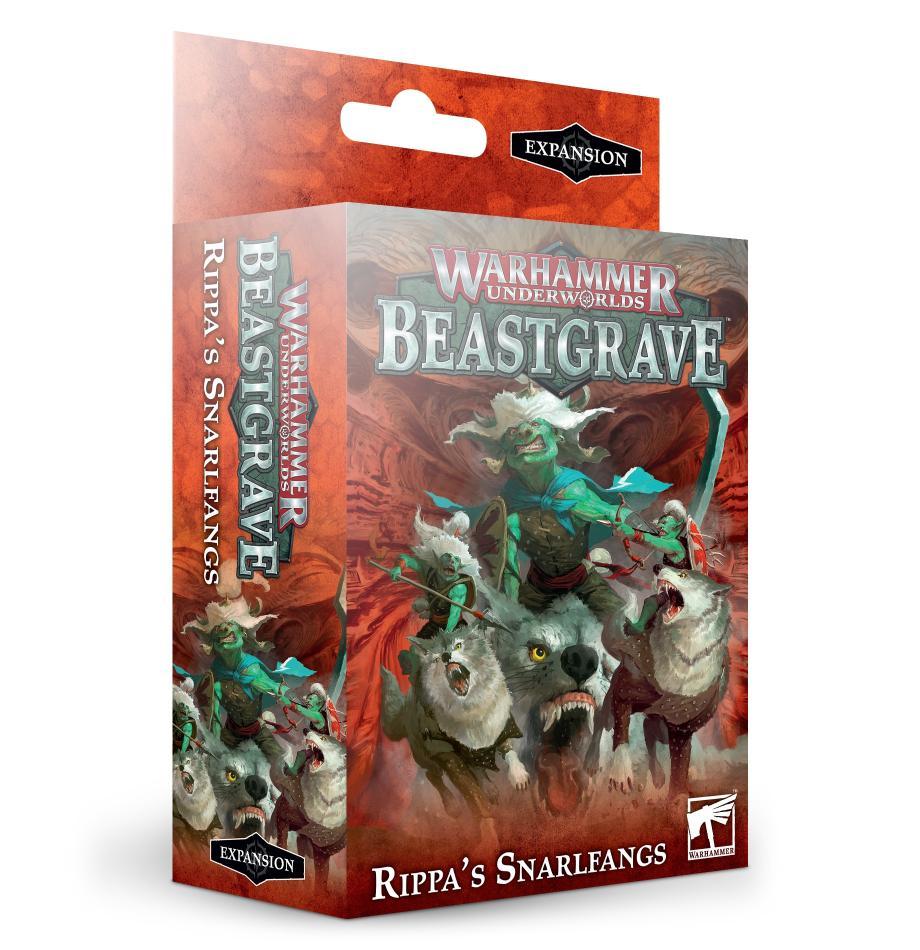 Warhammer Underworlds: Rippa's Snarlfangs (English)