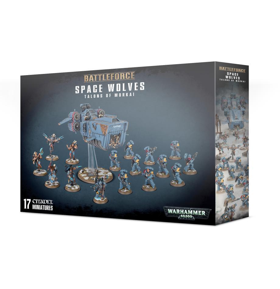 Battleforce: Space Wolves: Talons of Morkai