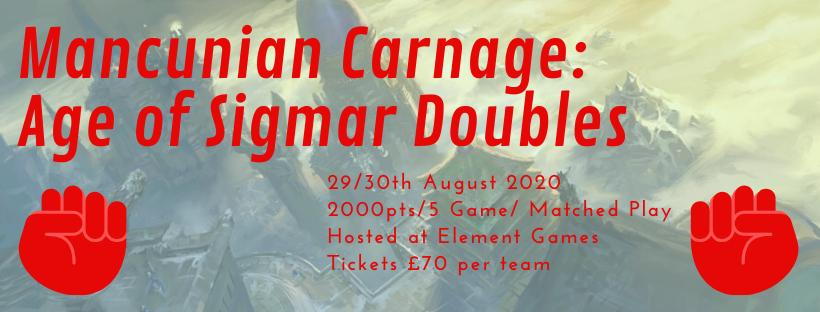 Mancunian Carnage: AOS Doubles