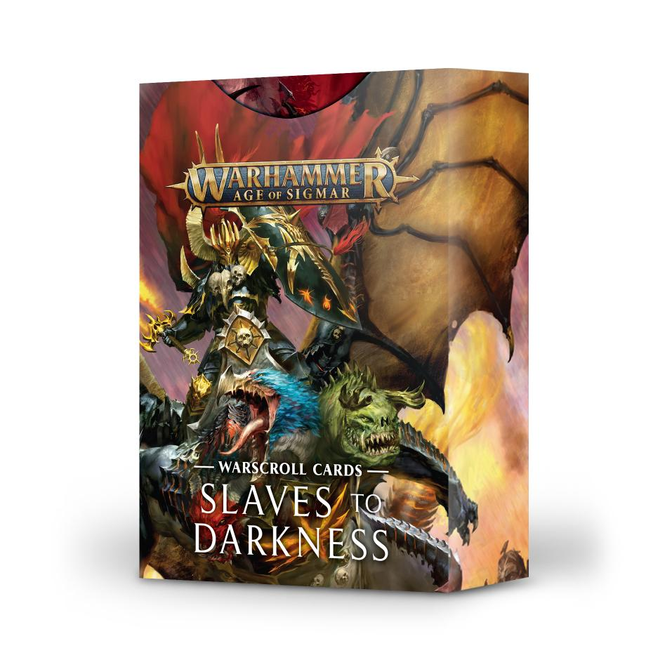 Warscroll Cards: Slaves to Darkness (English)