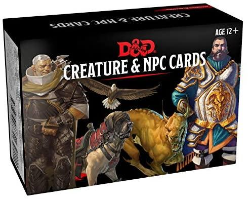 Monster Cards: NPCs & Creatures (182 cards)