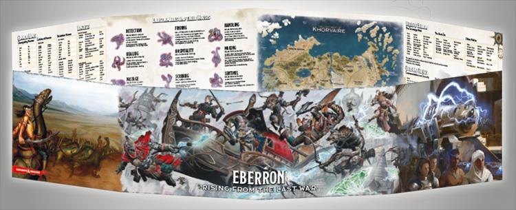 Eberron - DM Screen