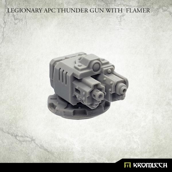 Legionary APC Thunder Gun with Flamer