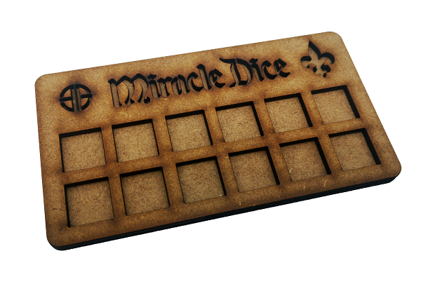 Miracle Dice Tray - MDF