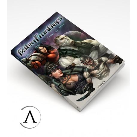 Fallen Frontiers - Art Book