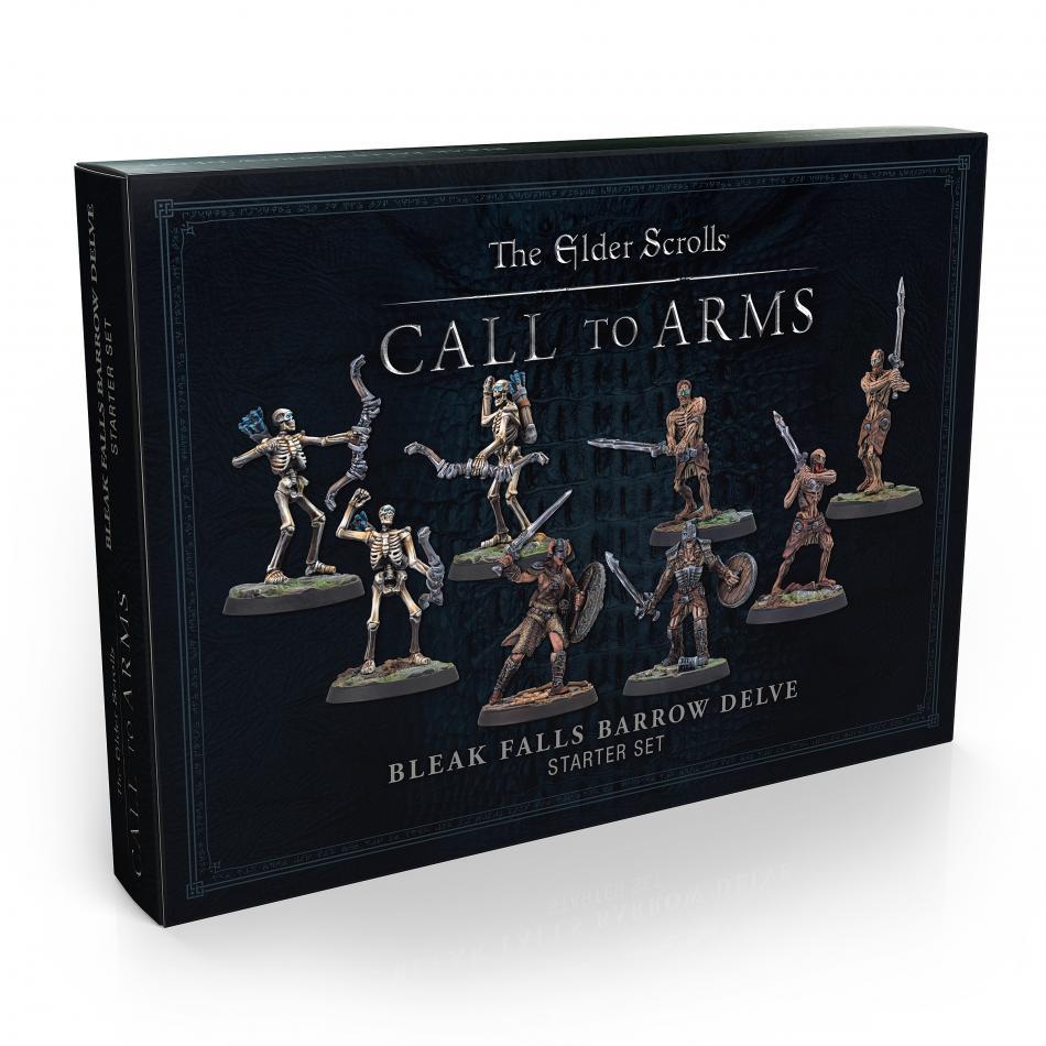 Elder Scrolls Bleak Falls Barrow Plastic Delve Set (Box of 8)