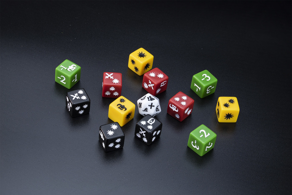 Elder Scrolls Call To Arms Dice Blister