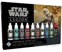 Star Wars Legion: Republic Paint Set