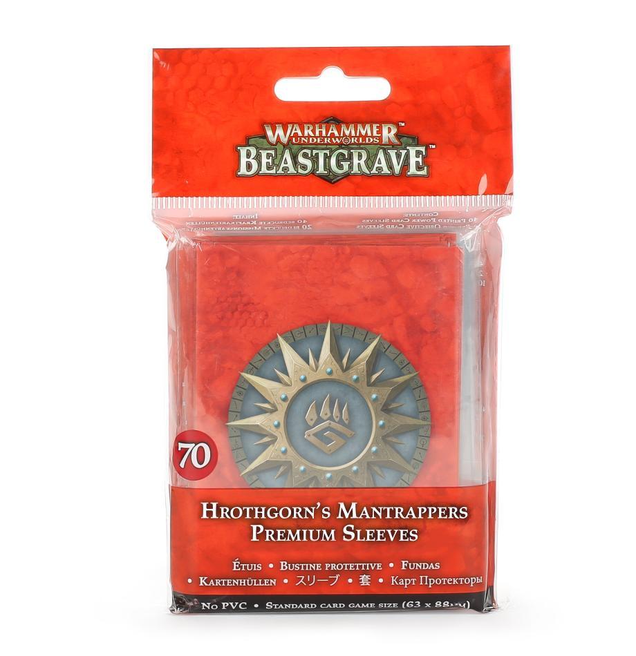Warhammer Underworlds: Hrothgorn's Mantrappers Sleeves