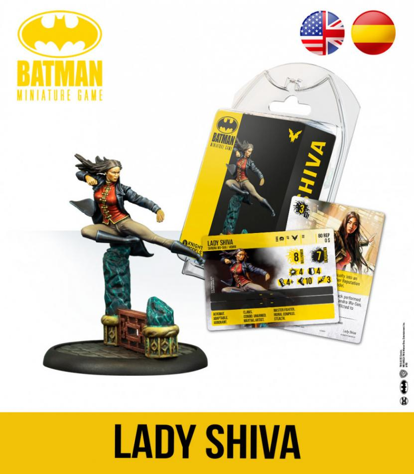 LADY SHIVA (2020 New Sculpt)