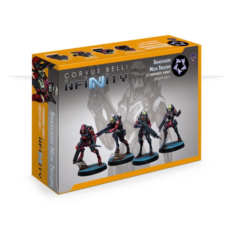 Shasvastii Nox Troops (Box of 4)