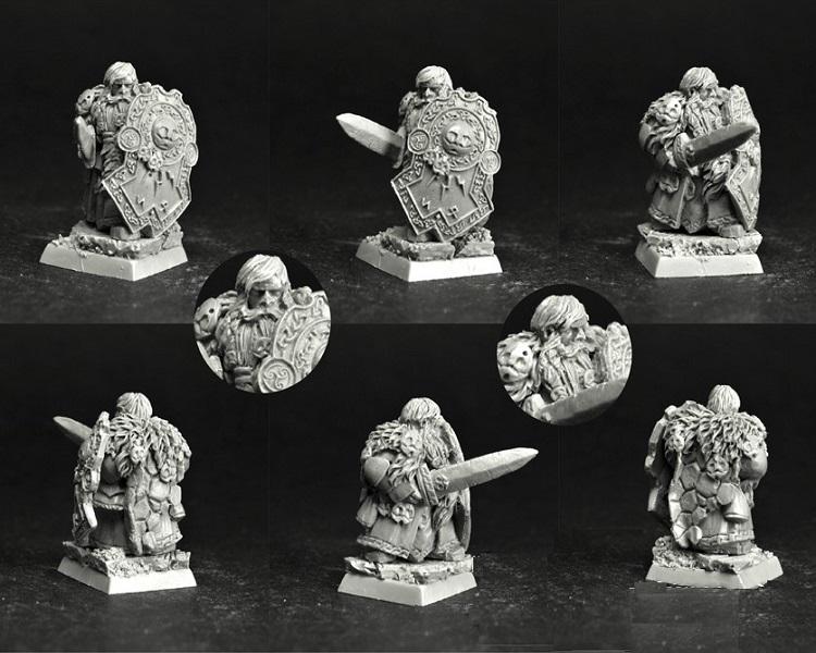 28mm/30mm Dwarf Lord Bandan