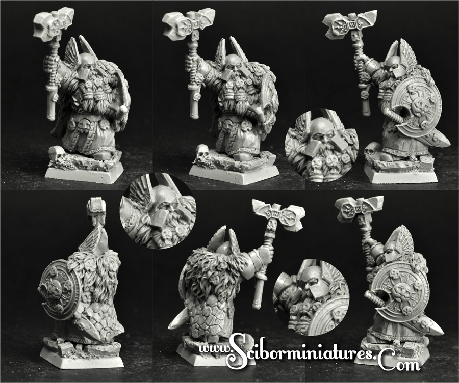 28mm/30mm Dwarf Lord Gimren