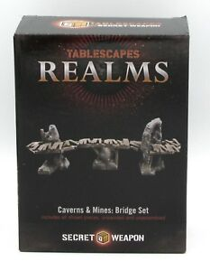 Tablescapes Realms, Caverns and Mines: BRIDGE SET (14) CASE