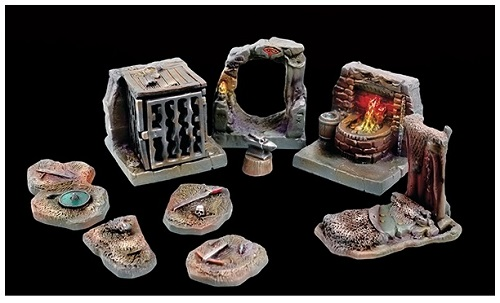 Tablescapes Realms, Caverns and Mines: ORC WARRENS (20) CASE
