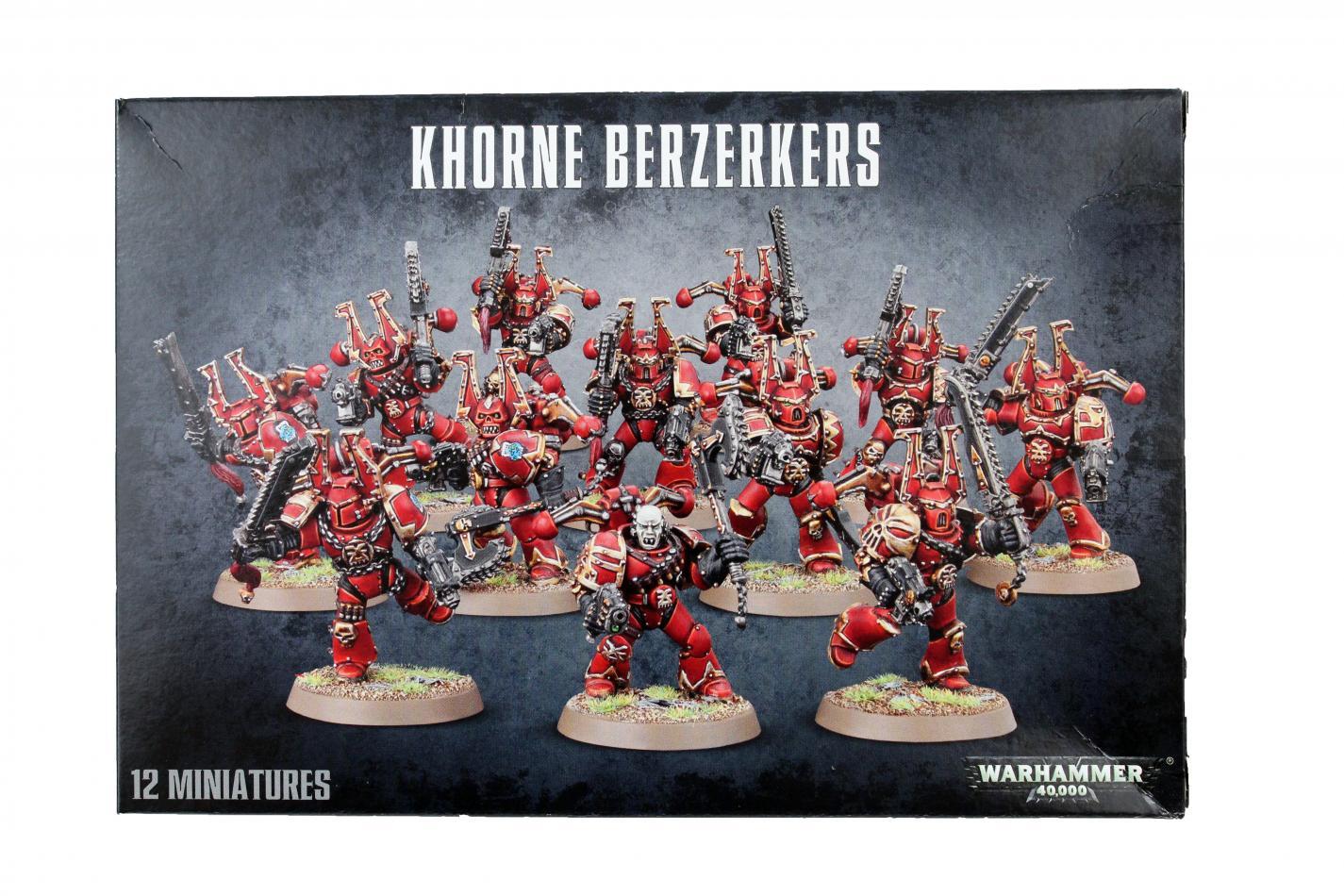 Khorne Berserkers