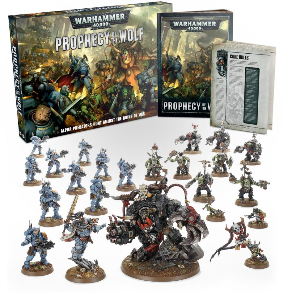 Warhammer 40,000: Prophecy of the Wolf (English)