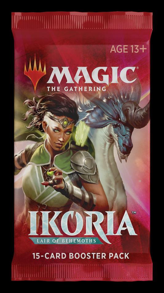 MTG: Ikoria- Lair of Behemoths Single Booster