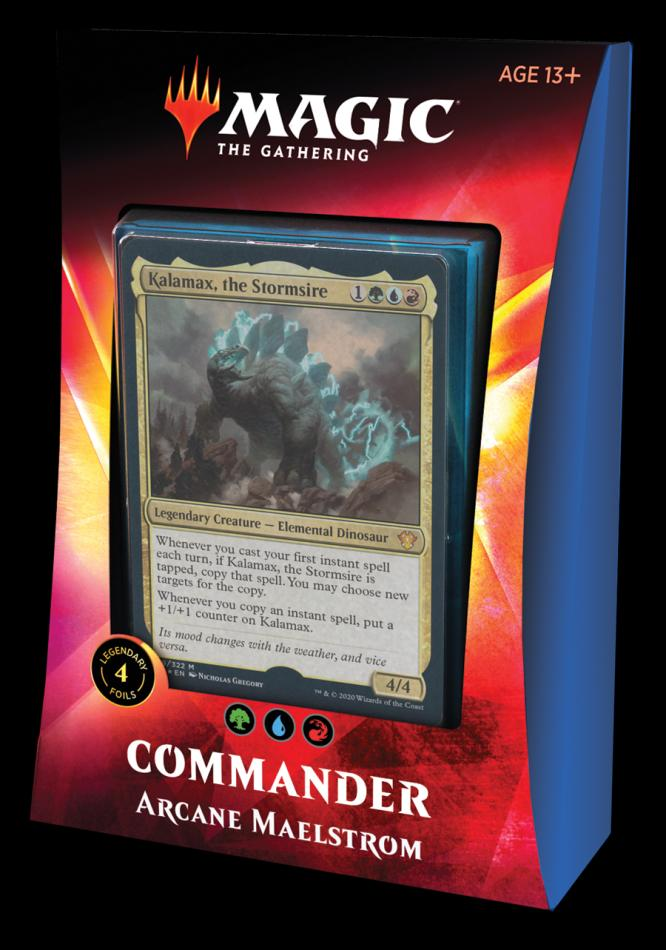 MTG: Ikoria- Lair of Behemoths Commander Deck - Arcane Maelstrom