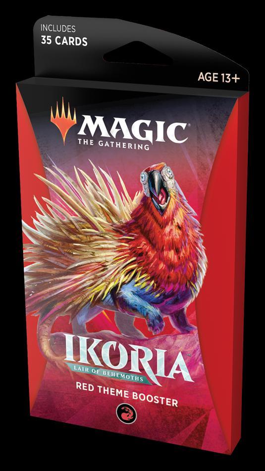 MTG: Ikoria- Lair of Behemoths Theme Booster - Red
