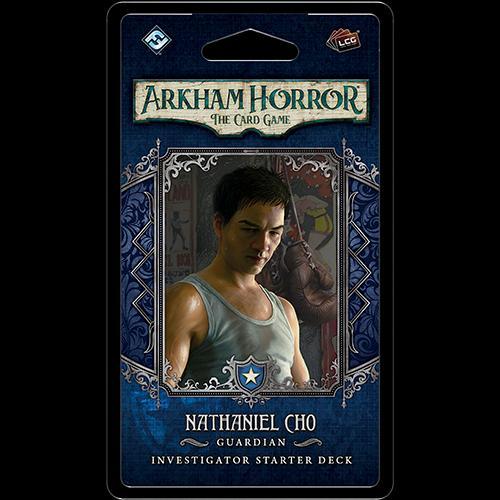 Nathaniel Cho Investigator Starter Deck: Arkham Horror LCG Exp.