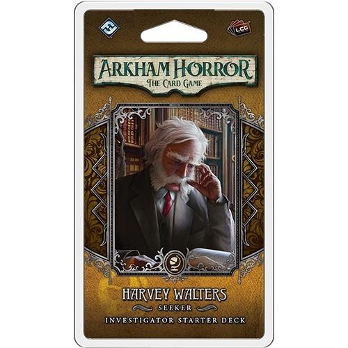 Harvey Walters Investigator Starter Deck: Arkham Horror LCG Exp.