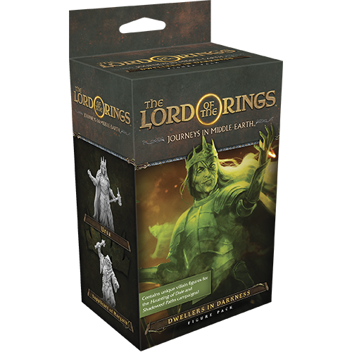 Dwellers in Darkness: The Lord of the Rings: Journeys in Middle-Earth Board Game Expansion