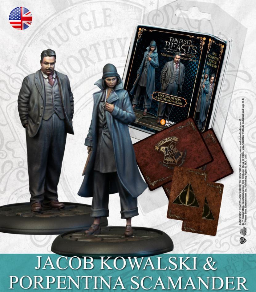 TINA GOLDSTEIN & JACOB KOWALSKI (Fantastic Beasts Characters)
