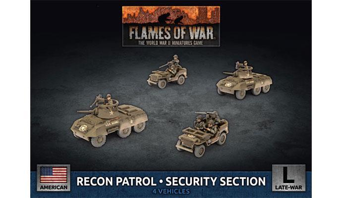 M8 Cavalry Recon Platoon (x4 Plastic)