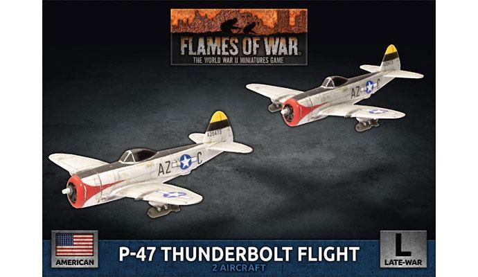 P-47 Thunderbolt Fight Flight (1:144) (x2)