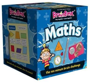 BrainBox Maths (55 Cards) - Refresh