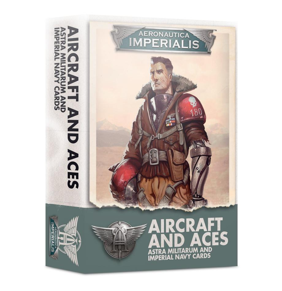 Aeronautica Imperialis: Aircraft & Aces Imperial Navy Cards - Version 2