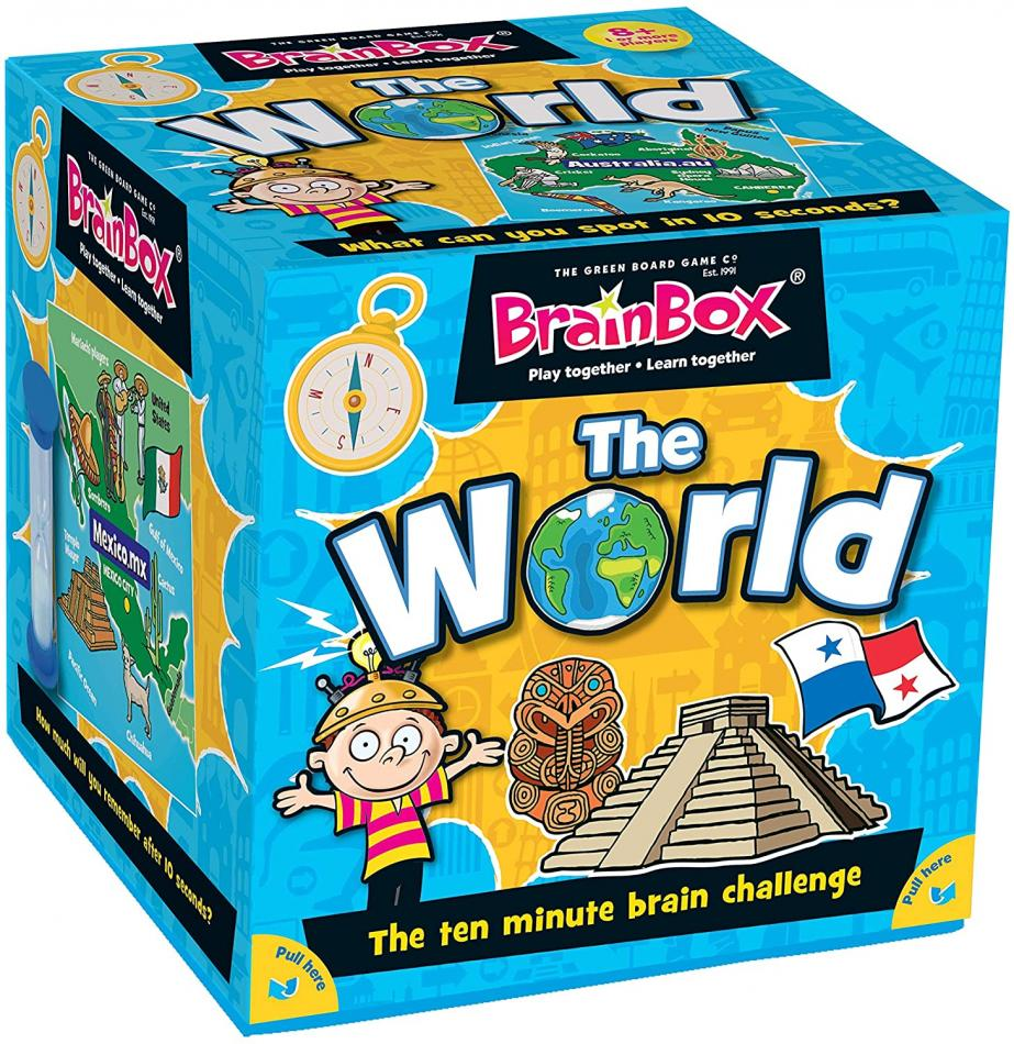 BrainBox The World (72 Cards) - Refresh
