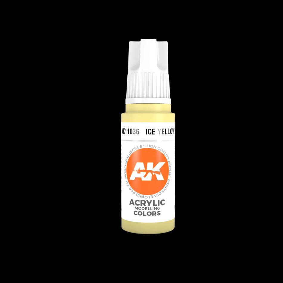 AK Acrylic - Ice Yellow 17ml