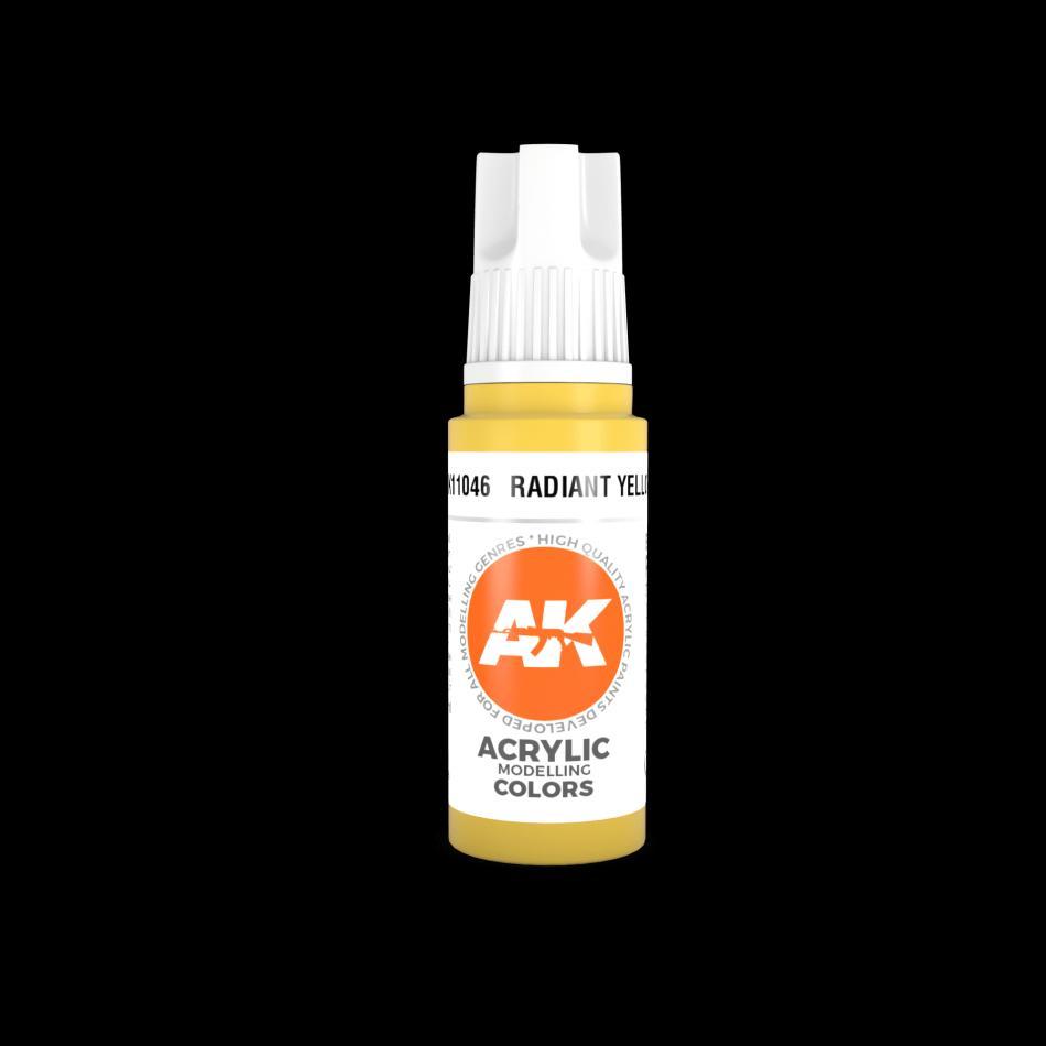 AK Acrylic - Radiant Yellow 17ml