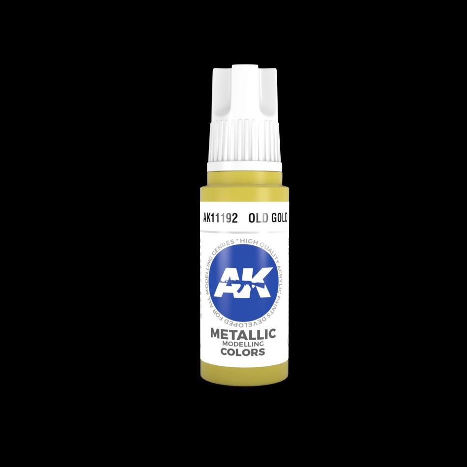 AK Acrylic - Old Gold 17ml