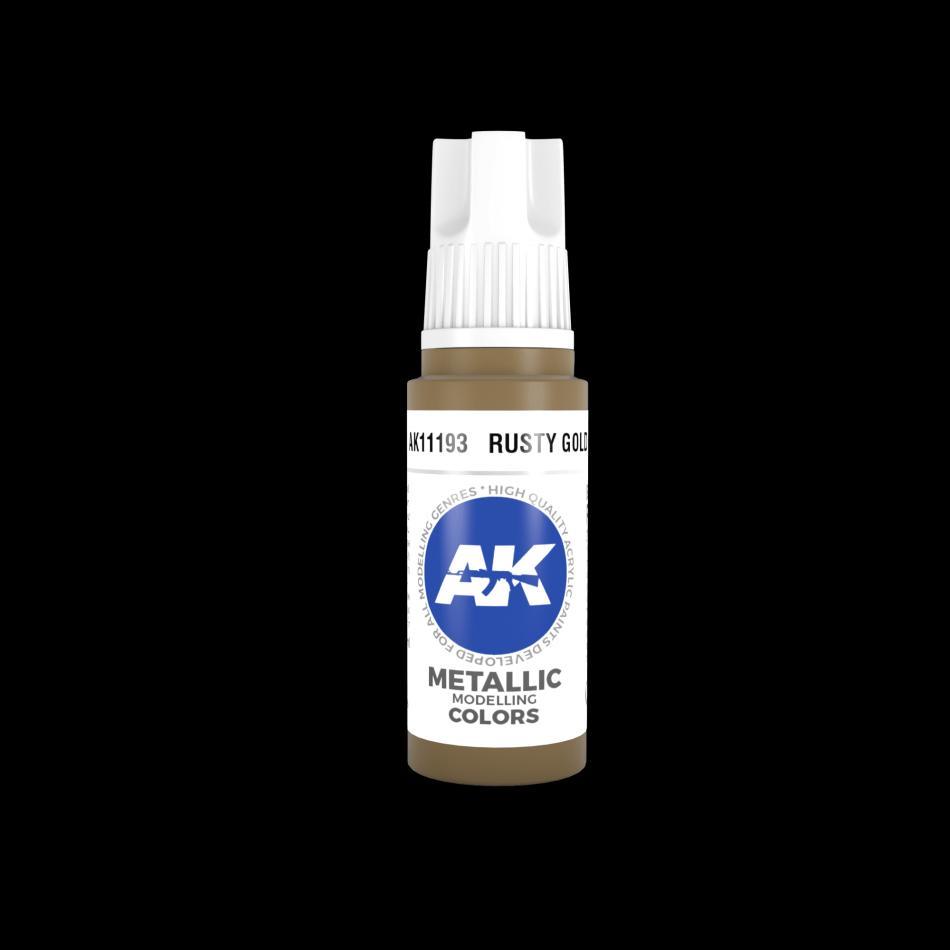 AK Acrylic - Rusty Gold 17ml