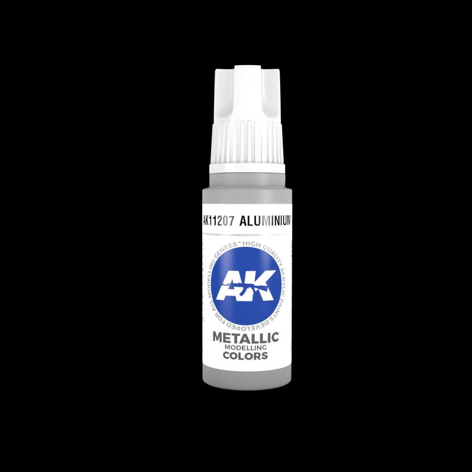 AK Acrylic - Aluminium 17ml