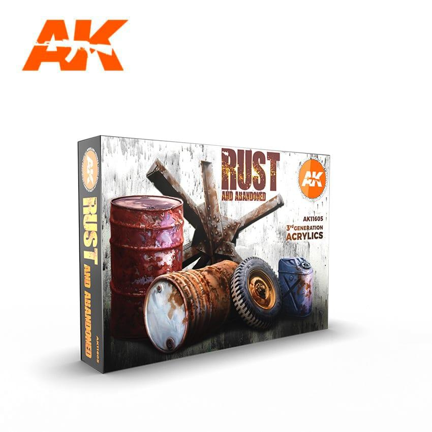 AK Acrylic Set - RUST SET