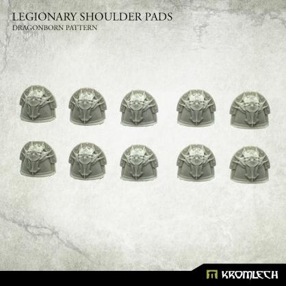 Legionary Shoulder Pads: Dragon Pattern (10)