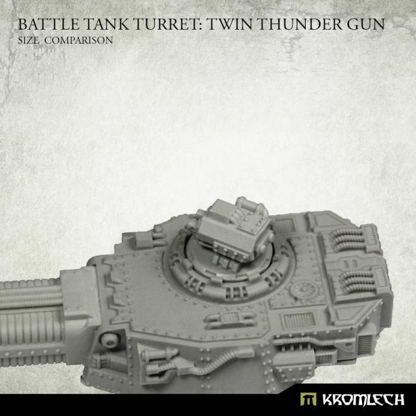 Battle Tank Turret: Twin Thunder Gun (1)
