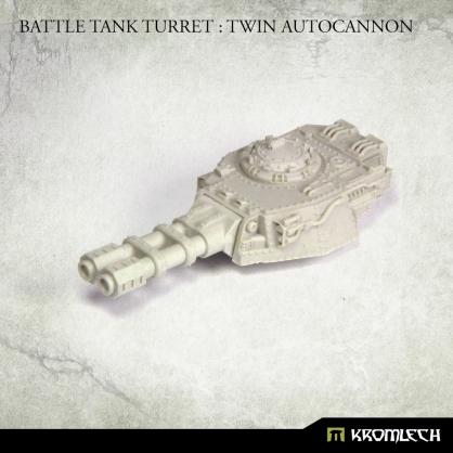 Battle Tank Turret: Twin Autocannon (1)