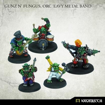 Gunz 'n' Fungus, Orc 'Eavy Metal Band (5)