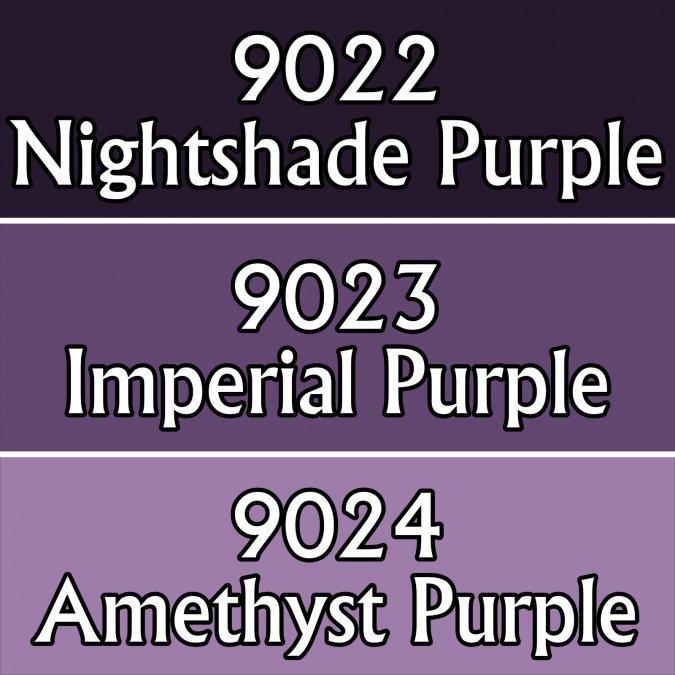 MSP Triads: Royal Purples