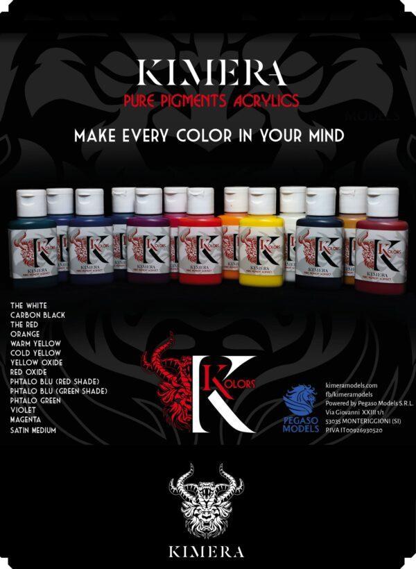 Kimera Kolors - Pure Pigments Set