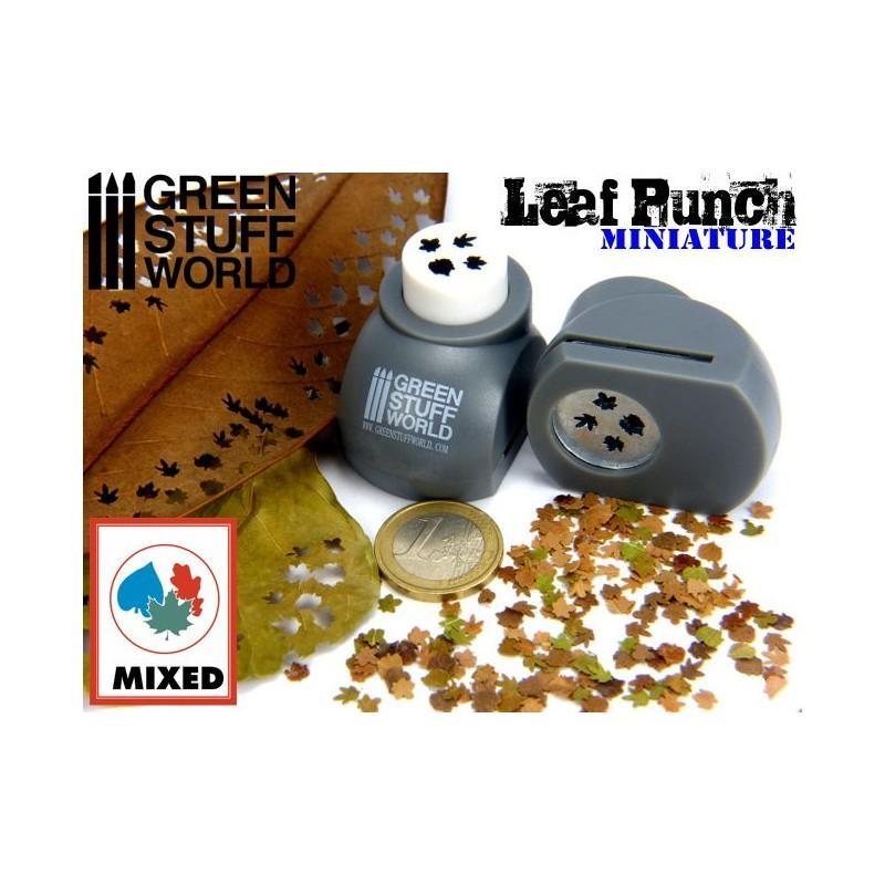 Miniature Leaf Punch GREY 1300